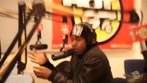 "Kendrick Lamar ""Keep It Thoro"" Freestyle @ Hot 97 ""In Flex We Trust"" with Funkmaster Flex, 01-23-2013 Pt.1"
