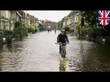 UK groundwater floods could last months, scientists warn