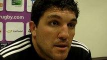 Rugby  Pro D2 - Yoann Boulanger réagit après USB - La Rochelle