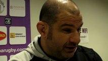 Rugby Pro D2 - Patrice Collazo réagit après USB - la Rochelle