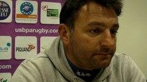 Rugby Pro D2 - Fabrice Ribeyrolles réagit après USB - La Rochelle