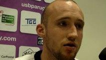 Rugby Pro D2 - Arthur Cestaro réagit après USB - La Rochelle