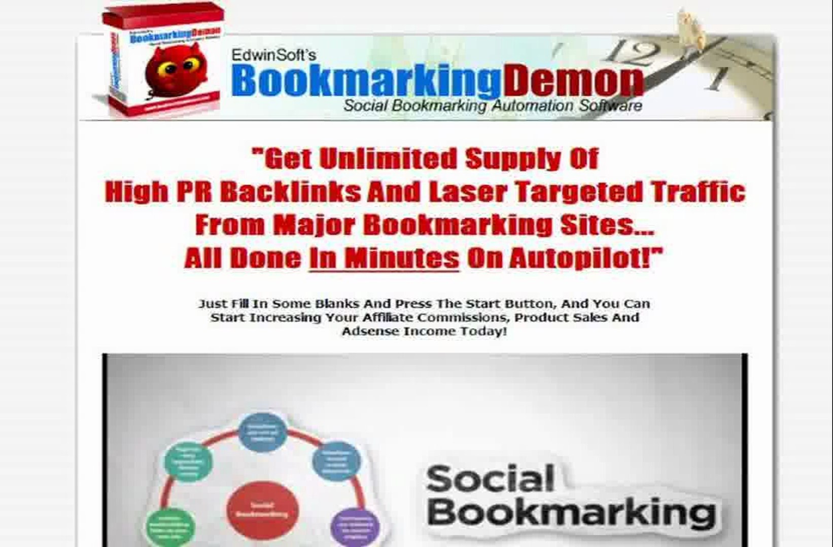 Social Bookmarking Automation Software Blog Comment Software