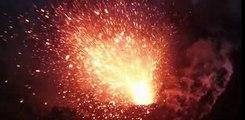 Eruption du volcan Pris - Volcans en éruption - Volcano Lava