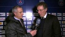 L'après match de Alain Roche, Paris/St Etienne