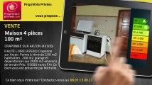 A vendre - maison - CRAPONNE SUR ARZON (43500) - 4 pièces - 100m²