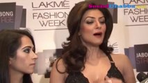 Sushmita Sen walked the ramp for designer Kresha Bajaj at LFW 2014