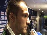 PlanetePSG.com :Yohan Mollo revient en zone mixte sur la défaite de Saint Etienne contre le PSG (2-0)