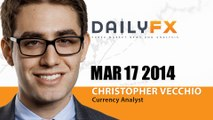 Forex: European FX Trade Update (AUDUSD and USDJPY): Monday, March 17, 2014