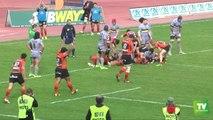 Rugby à XV : l'USC chute dans le derby face à Narbonne. Score final : 56 à 10.