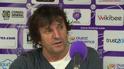 Istres - Clermont 1-1 : Réaction de José Pasqualetti