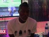 Interview de Djibril Cissé lors du Samba Tour d'Adidas