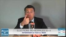 AGDE - 2014 - L'interview de la semaine : Fabrice MUR pour la liste REUSSIR AGDE ENSEMBLE par Didier DENESTEBE