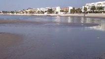 Les plages de Saint-Laurent-du-Var s'enlisent à cause du limon