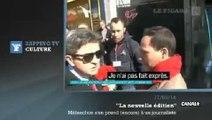 Zapping TV : Jean-Luc Mélenchon traite un journaliste d' «abruti» et de «vermine»