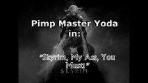 Pimp Master Yoda plays Call of Duty: Ghosts... Or does he?