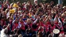 Départ 2014 du Rallye Aicha des Gazelles du Maroc / Groupe La Poste - Tous formidables - Toutes formidables