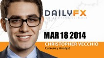 Forex: European FX Trade Update (EURUSD and USDJPY): Tuesday, March 18, 2014