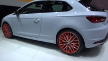 World Premiere SEAT Leon CUPRA at Geneva Motor Show 2014