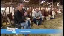 Direct Matin 2 à Clerval  : Congrès de la fédération nationale des producteurs de lait