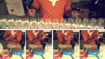 Pharrell Williams - HAPPY : la reprise de Dan Newbie avec des verres d'eau !