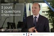 Etre ministre de l'économie et des finances aujourd'hui, c'est quoi? 5J5Q avec Pierre Moscovici, question bonus