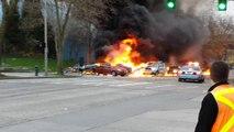 Crash d'un hélicoptère à Seattle