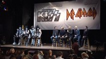 Iconic bands Kiss and Def Leppard announce joint tour