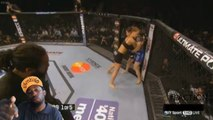 Reaction : Rousey Vs Mcmann UFC 170 Rousey Does it again !!! with a ko Mcmann vs Rousey
