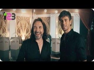 El Perdedor - Enrique Iglesias y Marco Antonio Solis (Detras De Camaras)