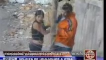Woman Catches Husband With Jumpoff, Beats Her Up & Throws Her Off A Cliff!