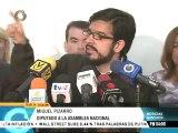 Miguel Pizarro: todos los jóvenes que fueron presentados en tribunales tienen expediente judicial
