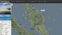 Radar detects UFOs during Malaysia Airlines Flight MH370 Mysterious Disappearing