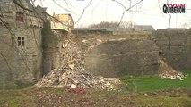 Pontivy: Le Chateau des Rohan s'écroule - Bretagne Télé