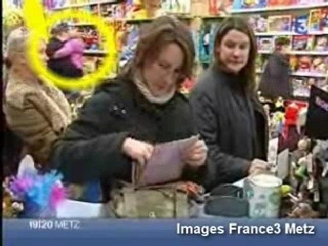 sur France 3 Metz  Elodie, Lucie et Lisa