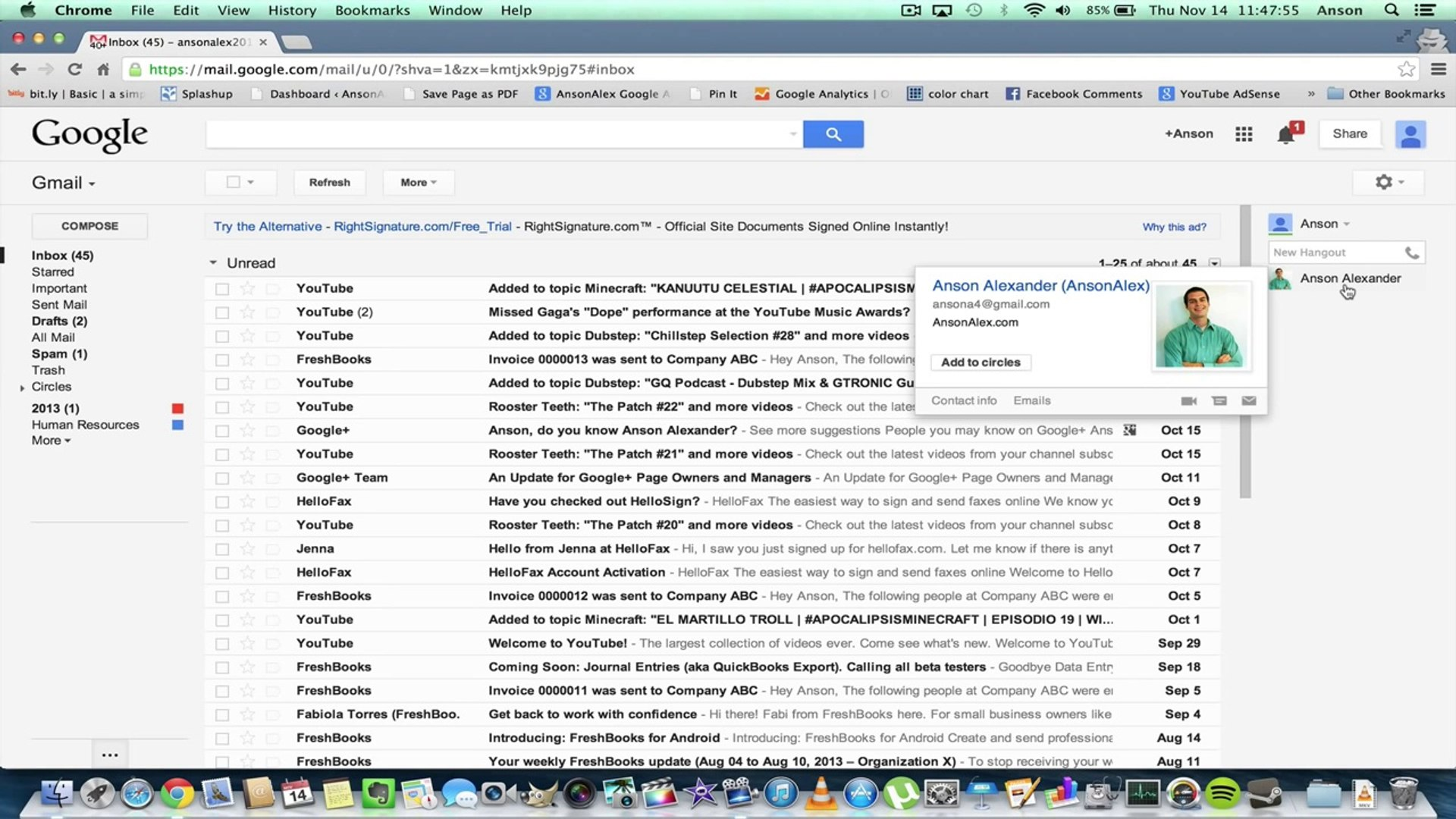 How To Unblock Someone in Gmail Chat List Google Hangout