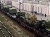 Ukraine vs Russia - Russian Military Train Arrived in Crimea