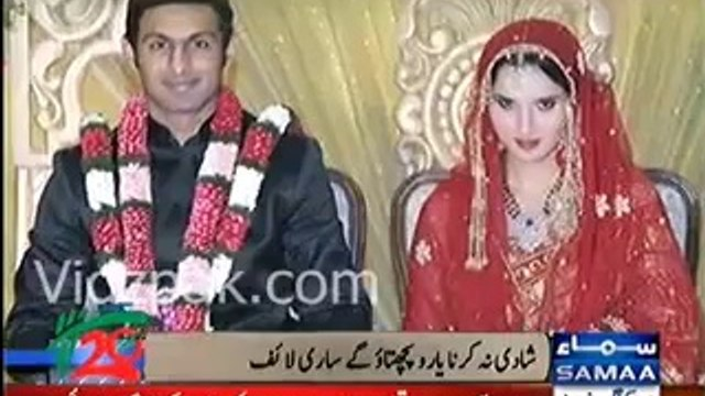Shaadi ke side effects ... Shoaib Malik becomes Zero from Hero after marriage with Sania Mirza