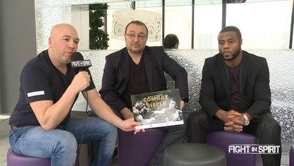 BOXEUR JEAN PASCAL CHAMPION WBC (Diamant des Mi-lourds) & CHRISTOPHE TIOZZO  PRESENTENT LEUR FUTUR PROJET !
