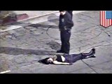 LAPD sexual assult? Woman thrown from moving squad car, claims abuse (VIDEO)