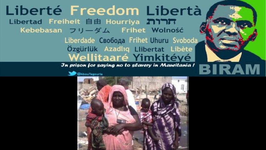 La lutte en Mauritanie des Militants pour les Esclaves