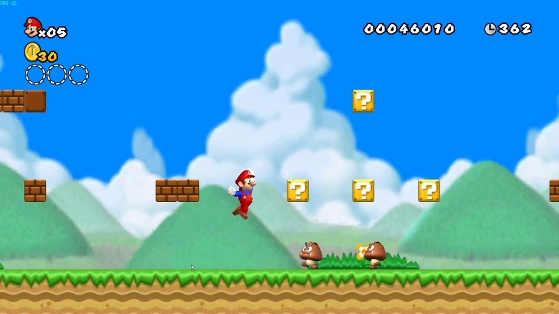 New Super Mario Bros  HD on Dolphin Emulator