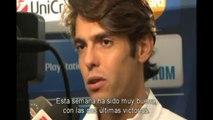 Deportes / Fútbol; Real Madrid, Kaká resucita en Ámsterdam (1-4)
