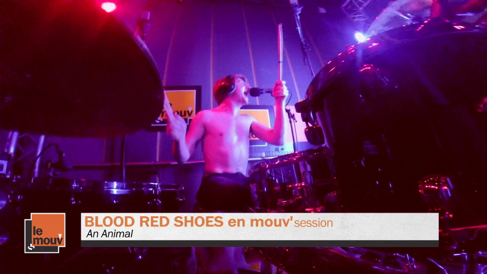 Blood Red Shoes - An Animal en Mouv'Session