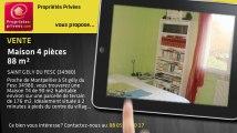 A vendre - maison - SAINT GELY DU FESC (34980) - 4 pièces - 88m²