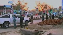 Taliban suicide bombers attack police station in Afghanistan