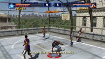 NBA Street Vol. 2 HD on Dolphin Emulator (Widescreen Hack)