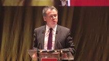Grande soirée conviviale - discours de Jean-Christophe Boyer - 18 mars 2014