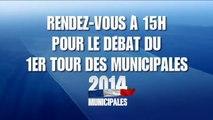 Municipales 2014: le grand débat du 1er tour - 20 mars à 15h