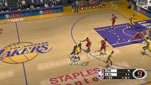 NBA Live 2003 HD on Dolphin Emulator (Widescreen Hack)